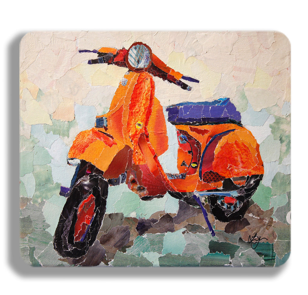 Retro Scooter Placemat