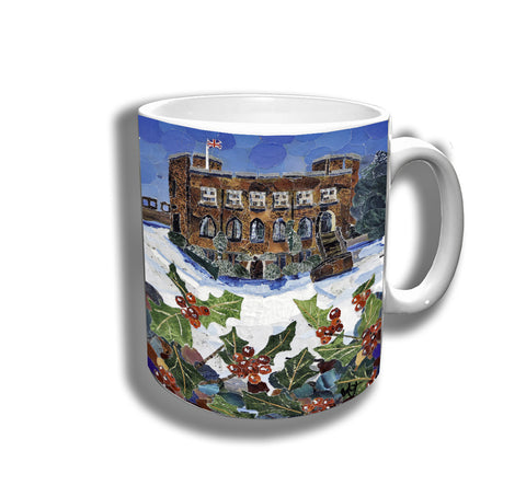 Winter in Shropshire Ceramic Mug