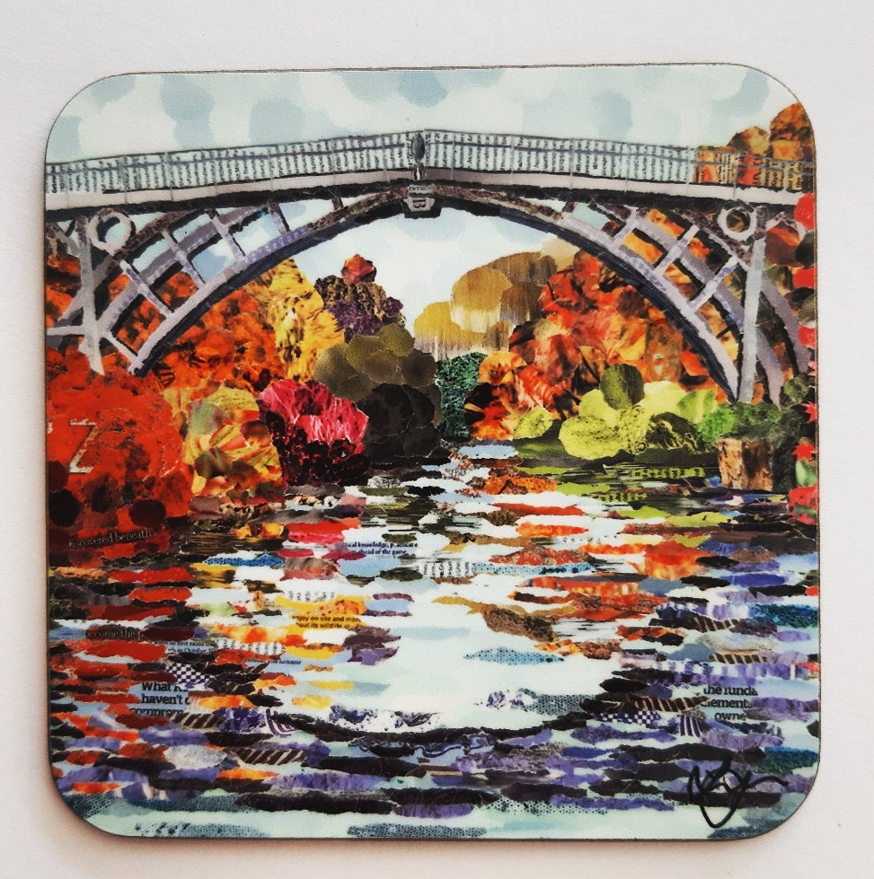 Ironbridge in Autumn Coaster