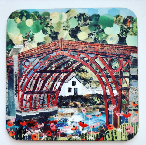 Ironbridge in Red, Shropshire Coaster