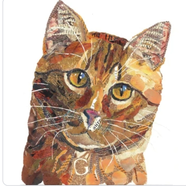 Ginger Cat A3 Print