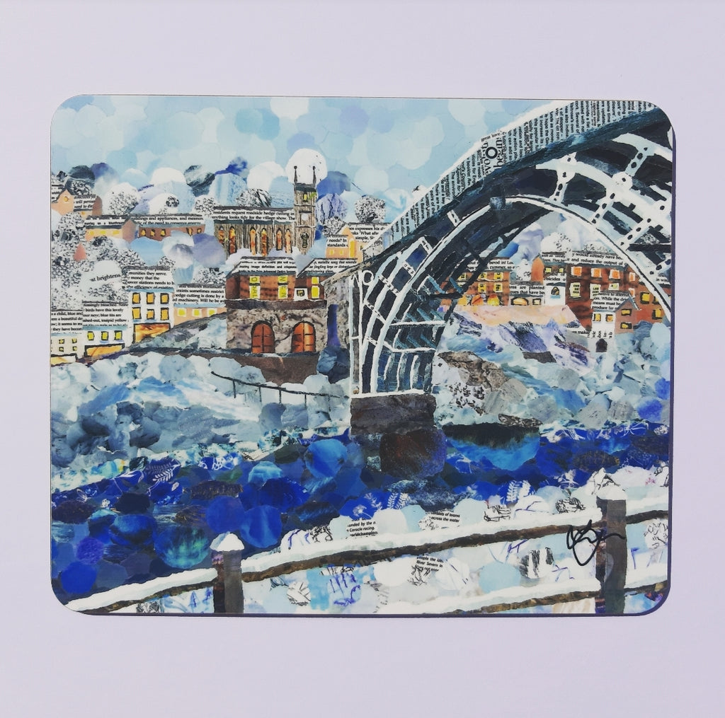 Ironbridge in Winter Placemat