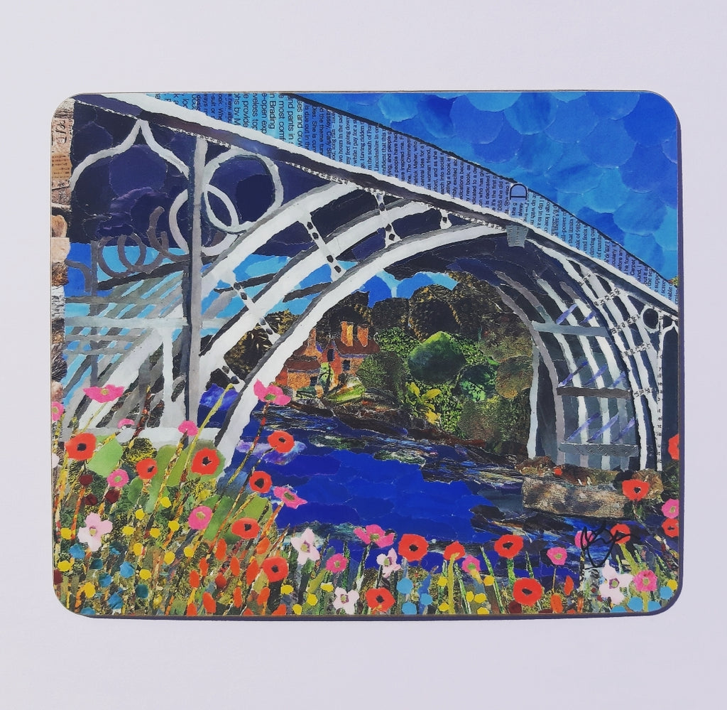 Ironbridge in Summer Placemat
