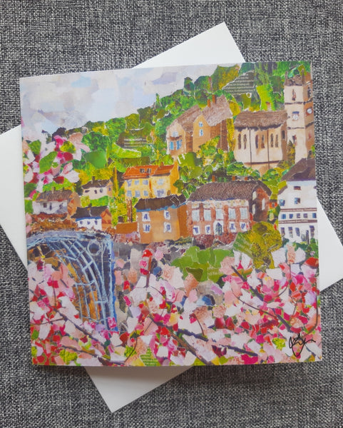 Ironbridge in Spring Card