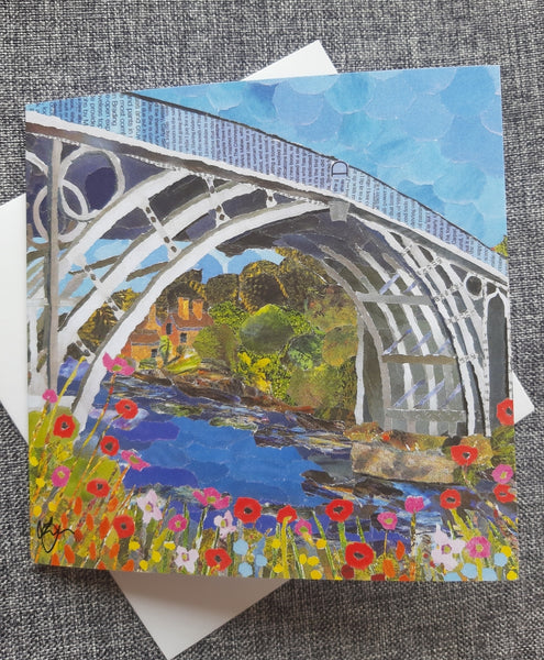 Ironbridge in Summer Card