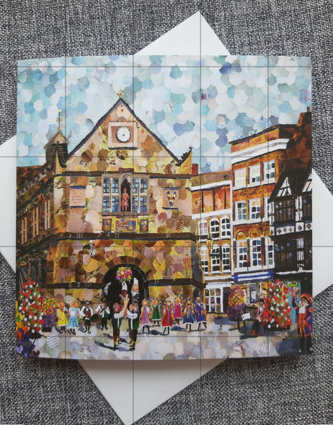 The Square, Shrewsbury Card