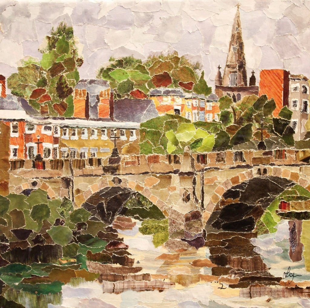 English Bridge, Shrewsbury Mini Print