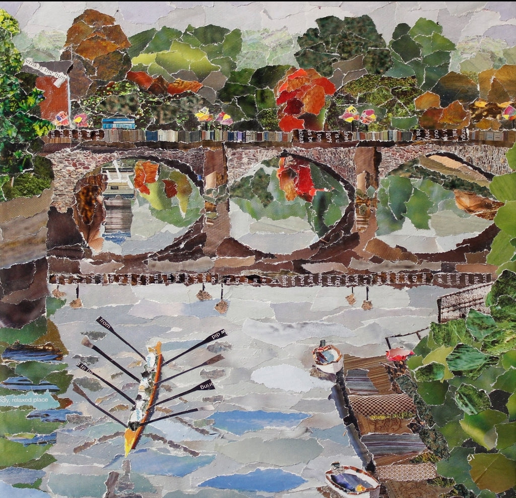 Welsh Bridge, Shrewsbury Mini Print