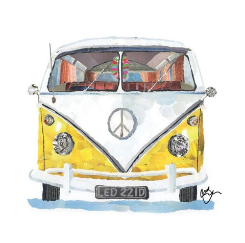 Buttercup the Camper Mini Print