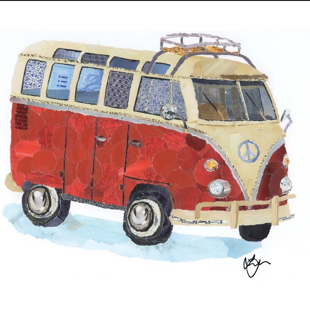 Ruby the Camper Mini Print