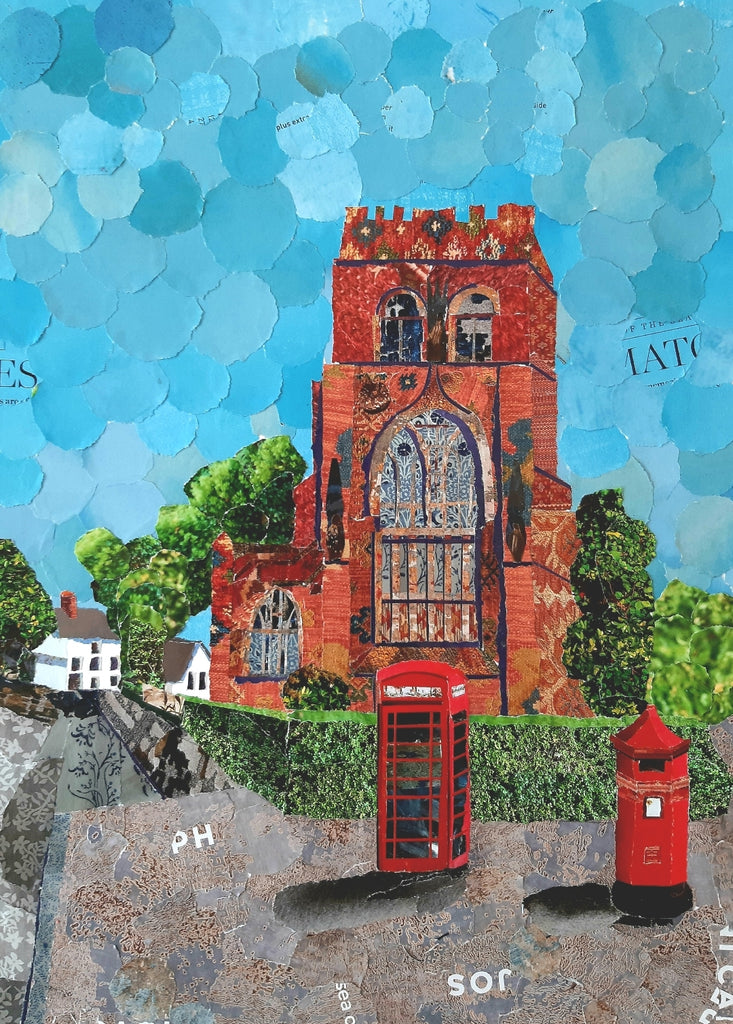 Shrewsbury Abbey A3 Print