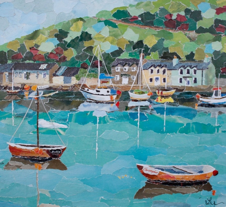 Fishguard, Wales Mini Print