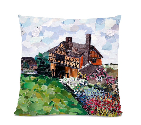 Stokesay Faux Suede Cushion