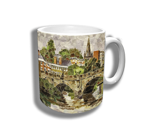 English Bridge Ceramic Mug