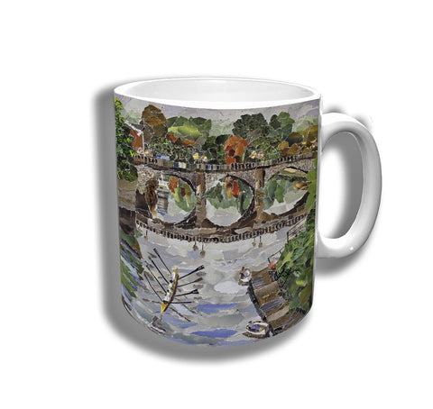 Welsh Bridge Ceramic Mug