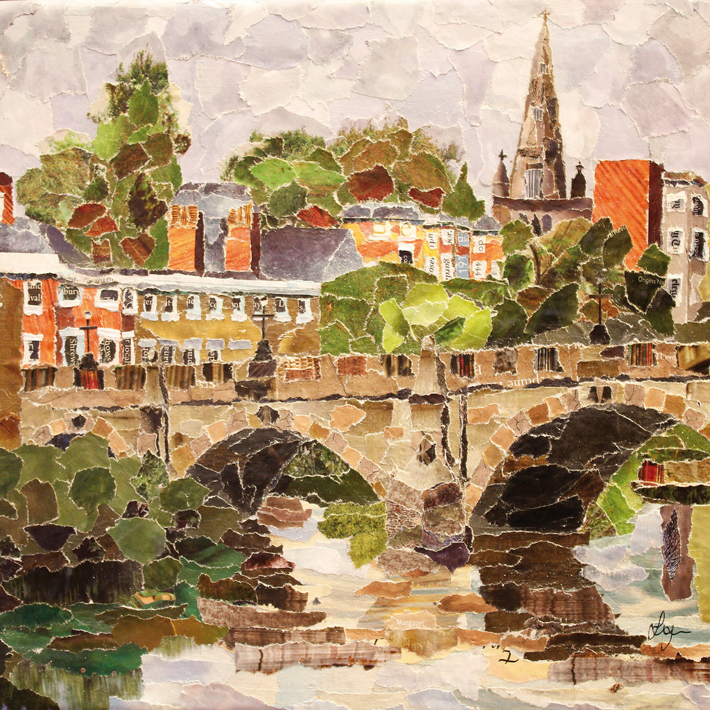 English Bridge, Shrewsbury Card