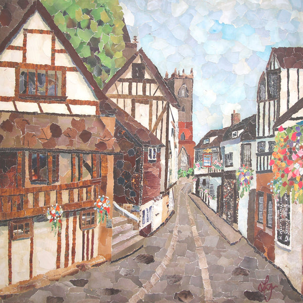 Fish Street, Shrewsbury Card