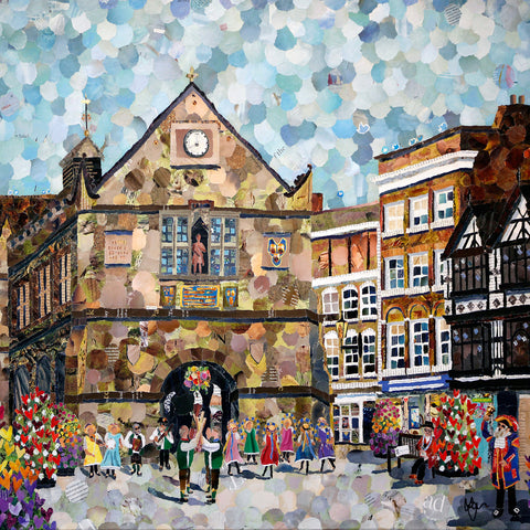 The Square, Shrewsbury Print