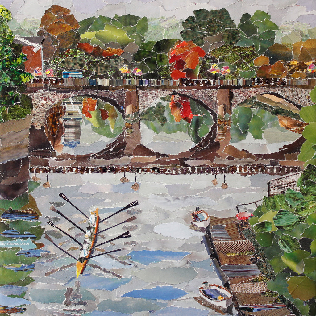 Welsh Bridge, Shrewsbury Card