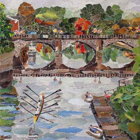 Welsh Bridge, Shrewsbury Print