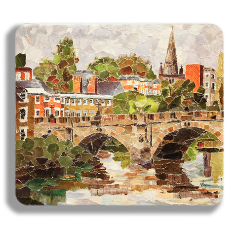 English Bridge, Shrewsbury Placemat