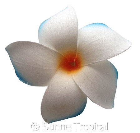 Plumeria foam flowers hair clip (FPLU42-C7)