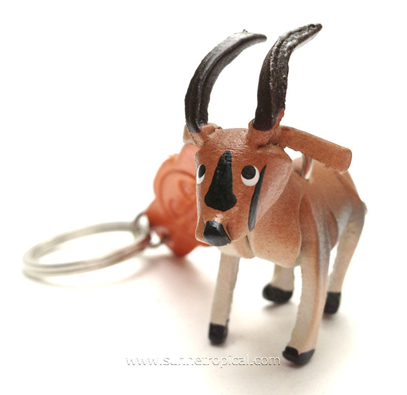 Oryx 3D Leather Key Chain