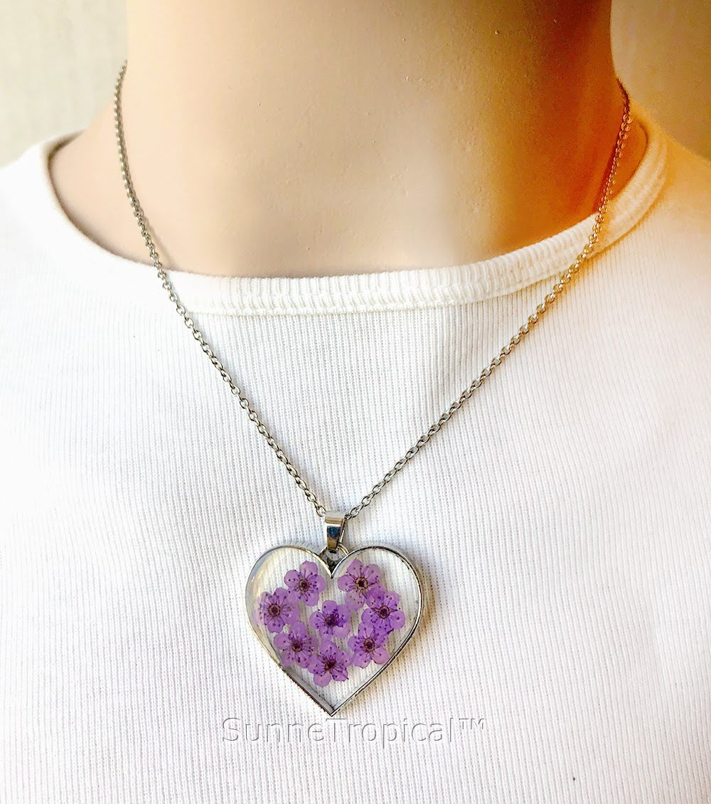glow heart jewelry love in pendant aeproduct dark moon with getsubject item fluorescence night necklace chain the purple women