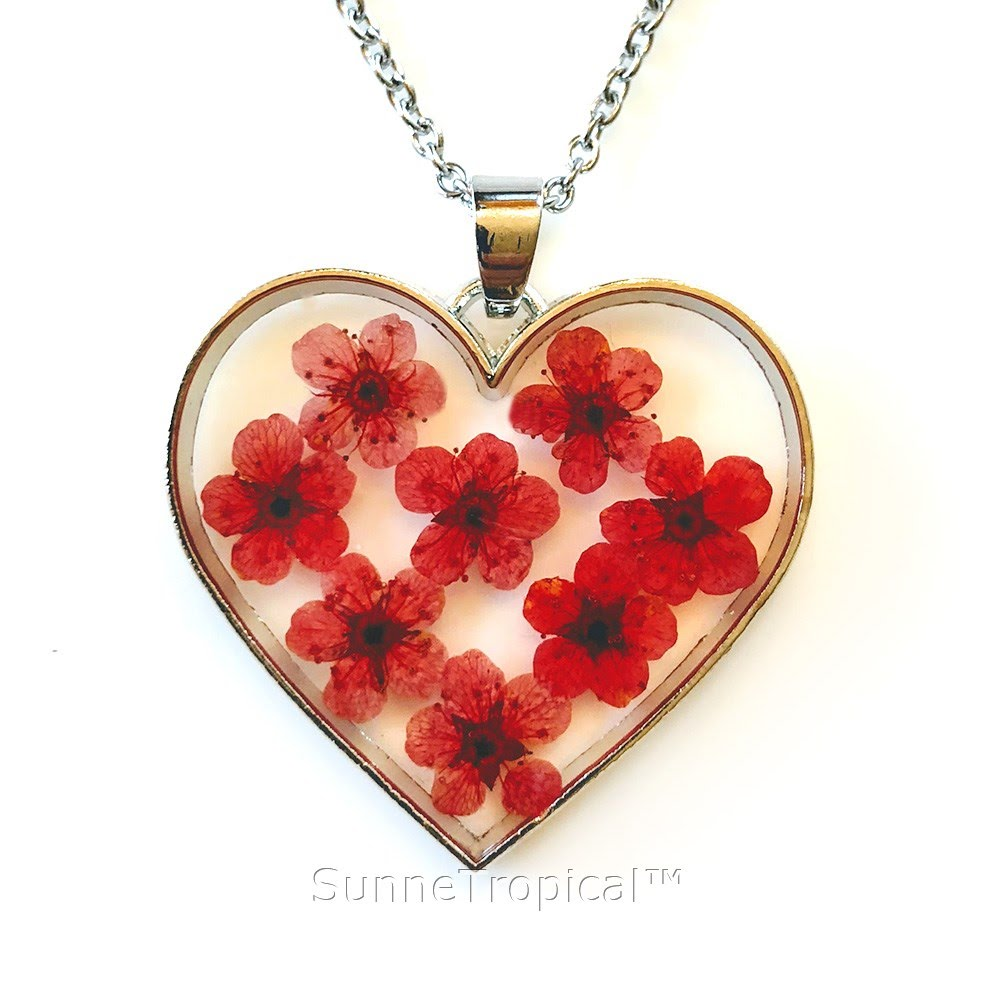 bhp swarovski necklace red pendant necklaces ebay heart