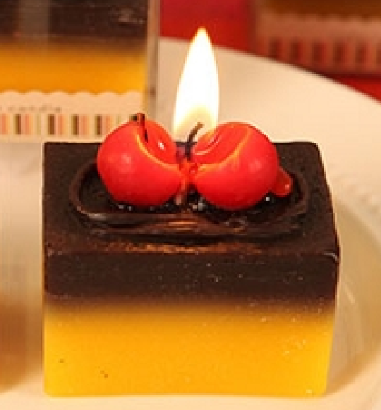 CAKE CANDLES (2 designs 12 pieces) only US$1.70/pc