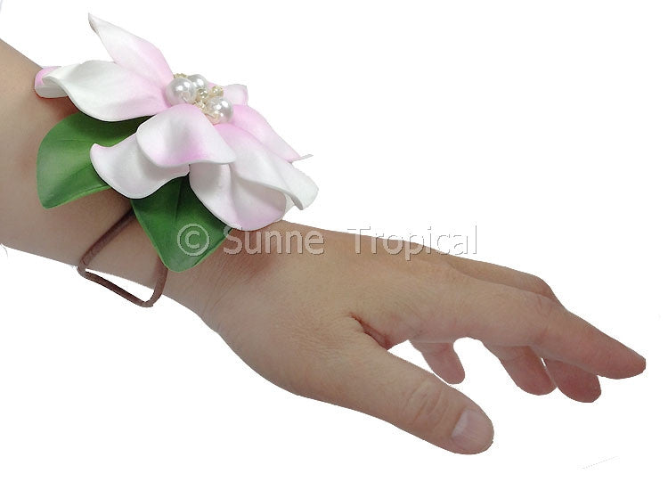 Corsages Gardenia Foam Flowers With Pearl (FGAR15-S1)