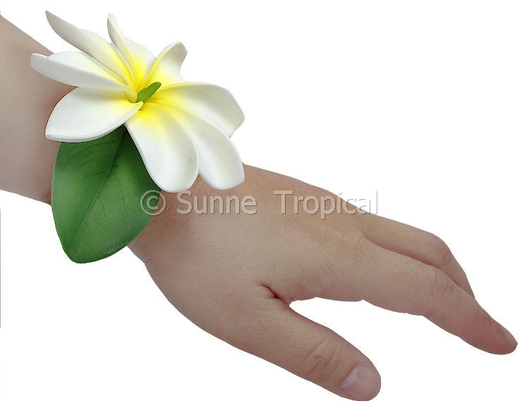 Corsages Tihitian Tiare Foam Flowers (FTIA2-8-S1)