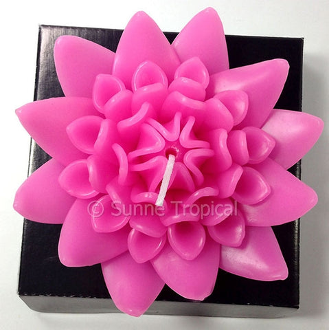 Flower Candles 5 Inch - Torch Ginger (Pink)