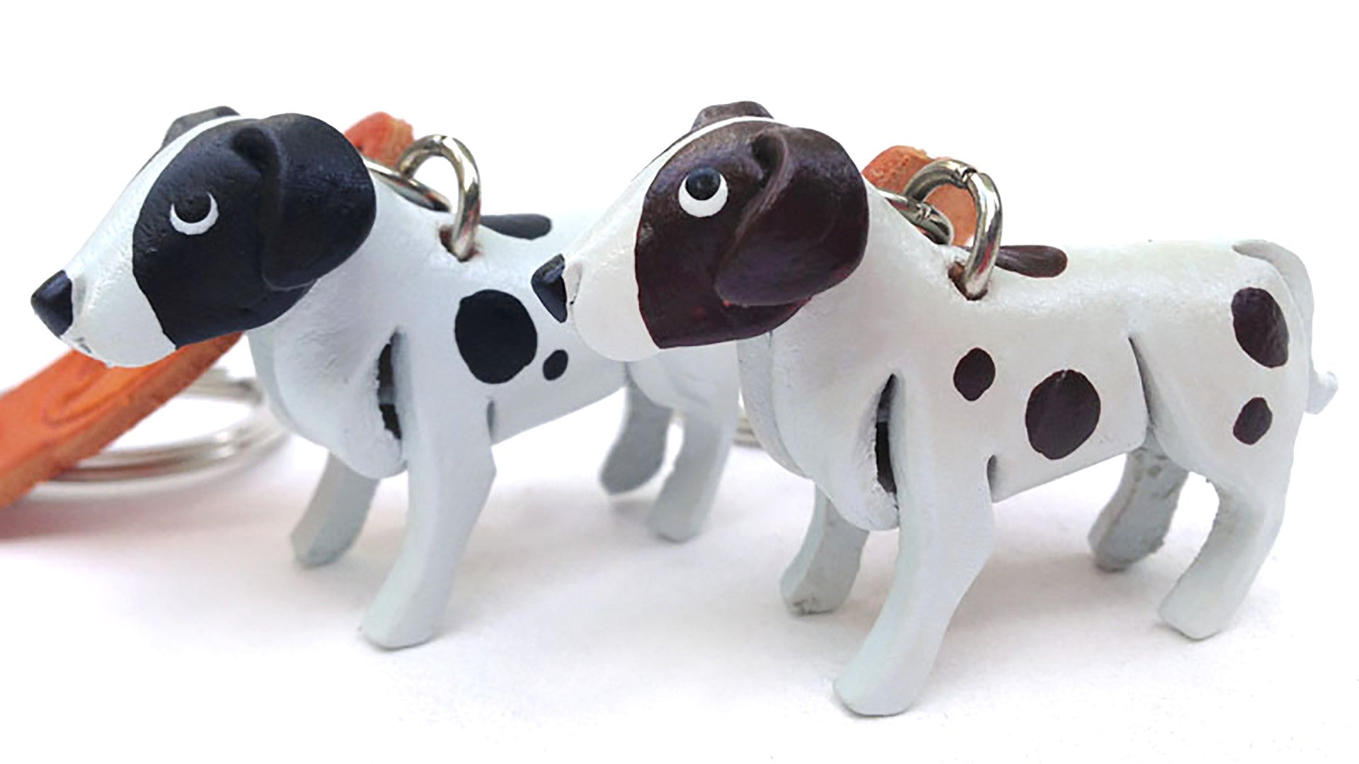 Leather Animal Keyrings