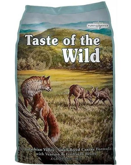 Taste of the Wild Appalachian Valley - talie mica 12,2 kg - Happy Tail