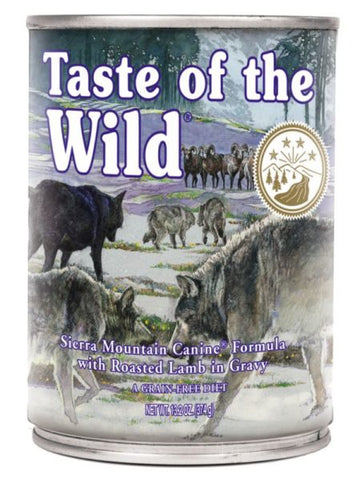 Conserva TASTE OF THE WILD SIERRA MOUNTAIN – 390 GR