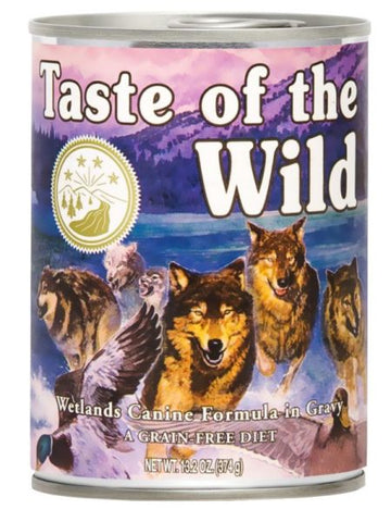 Conserva TASTE OF THE WILD WETLANDS – 390 GR