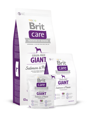 Brit Care Somon și Cartofi - Adult gigant