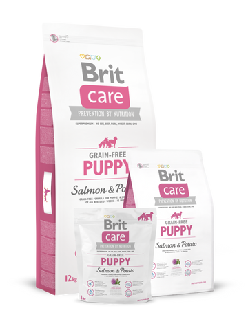 Brit Care Somon și Cartofi - Puppy