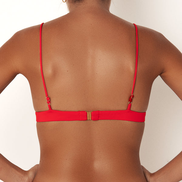 BOCAS TOP - CLASSIC RED