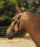 Heritage English Leather In-Hand Bridle rear