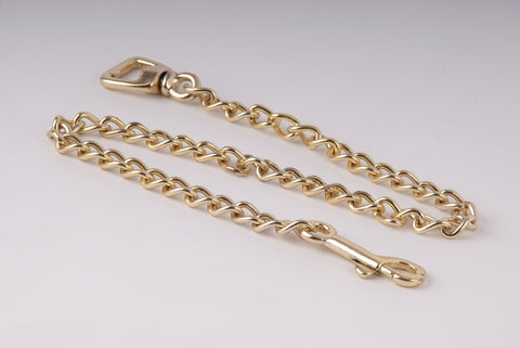 Rhinegold Heavy Brass Lead