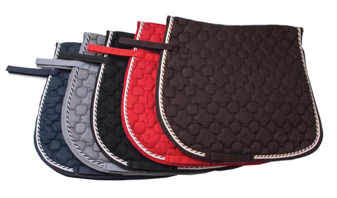 Rhinegold Suedette Saddle Pad
