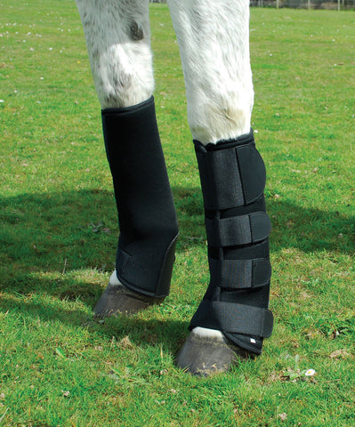 Rhinegold Breathable Neoprene Turnout Boots front
