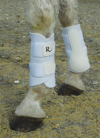 Rhinegold Two Strap Brushing Boots