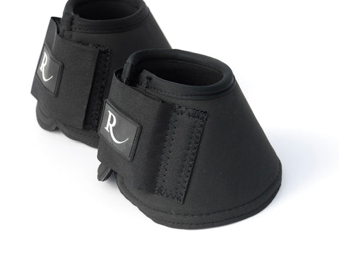 Rhinegold Elite Velcro Over Reach Boots