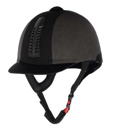 Rhinegold 'Pro' Riding Hat Traditional Finish Black Grey