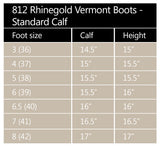Rhinegold 'Elite' Vermont Leather Country Boots- Standard Calf