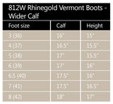 Rhinegold 'Elite' Vermont Leather Country Boots- Wider Calf