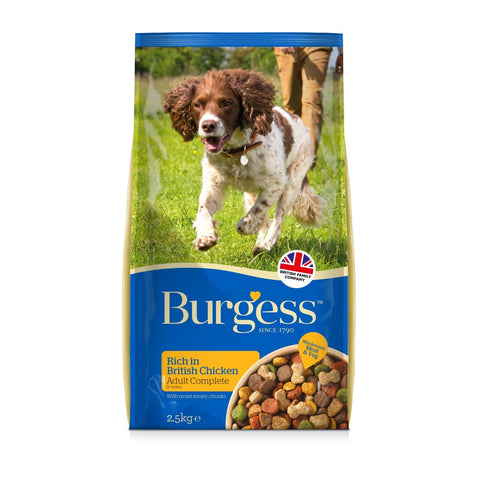 Burgess Adult Dog Rich in Chicken 2.5kg